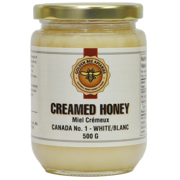 500 G Creamed Honey $5.00