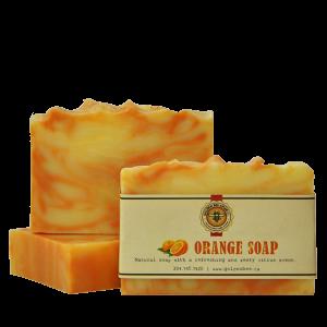 Orange Soap $5.00