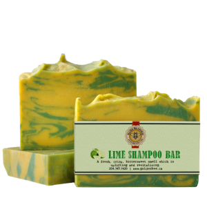 Lime Shampoo Bar $5.00