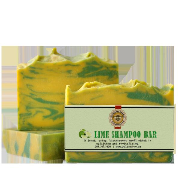 Lime Shampoo Bar $5.00