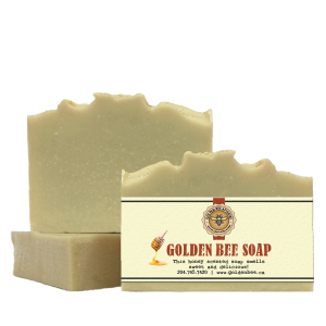 Golden Bee Soap $5.00